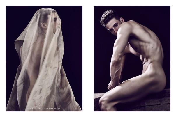 Splendid fine art nude portrait by photographer Daniel Jaems featuring in Obsession #12 Allen Lovell. Slay!