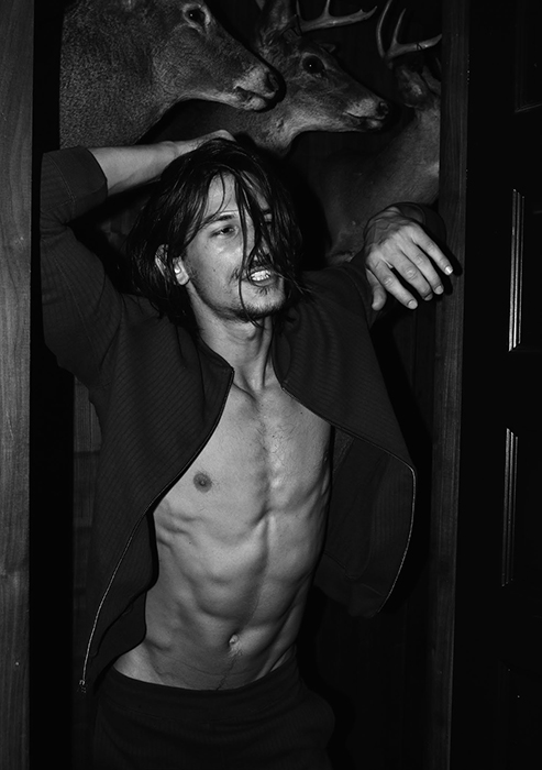 "Exclusive fashion featured for Client Magazine x Yearbook Fanzine presenting ""Sleepless Nights with Jarrod Scott photographed by Joseph Lally, styling by Fashion Editor Matthew Ellenberger. Hair by Valentino Longo."